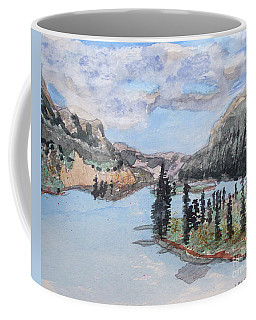 Saskatchewan River Crossing - Icefields Parkway Coffee Mug