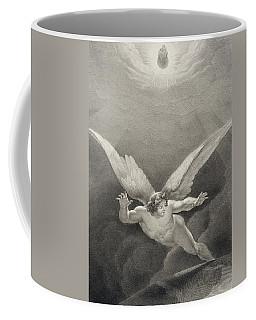 Satan Leaps Over The Walls Of Heaven Coffee Mug