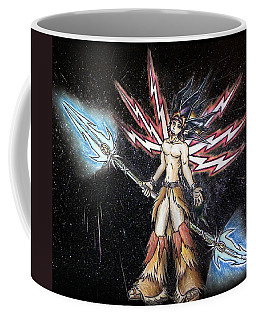 Satari God Of War And Battles Coffee Mug