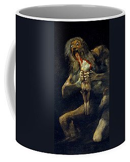 Saturn Devouring His Son Coffee Mug