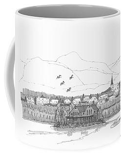 Saugerties From Tivoli Coffee Mug