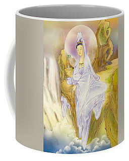 Sault-witnessing Kuan Yin Coffee Mug by Lanjee Chee
