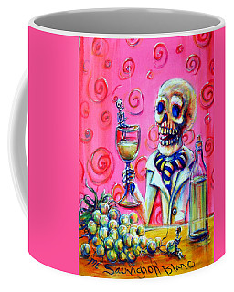 Mi Sauvignon Blanc Coffee Mug by Heather Calderon