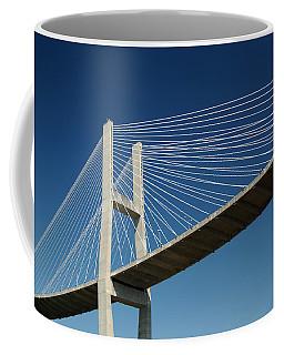 Savannah River Bridge Georgia Usa Coffee Mug