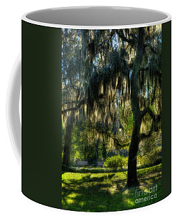 Coffee Mug featuring the photograph Savannah Sunshine by Mel Steinhauer
