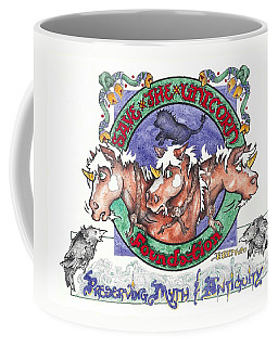 Real Fake News Save The Unicorn Foundation Foto Coffee Mug