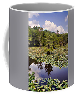 Coffee Mug featuring the photograph Saw Mill In July by Lana Trussell