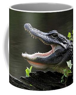 Say Aah - American Alligator Coffee Mug