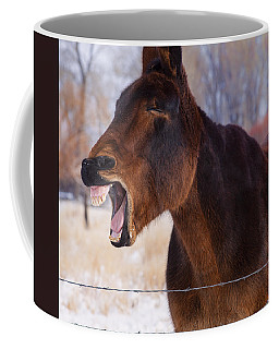 Say Ahhhh Coffee Mug by Fran Riley