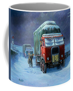 Scammell R8 Coffee Mug by Mike  Jeffries