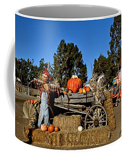 Coffee Mug featuring the photograph Scare Crow by Michael Gordon