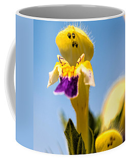 Scared Flower Coffee Mug by Leif Sohlman