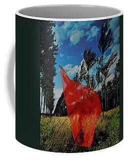 Scarf In The Winds Coffee Mug