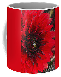 Scarlet Dahlia Coffee Mug