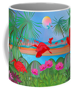 Scarlet Party - Limited Edition 1 Of 20 Coffee Mug