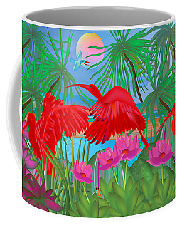Scarlet Summer Dance - Limited Edition 1 Of 20 Coffee Mug