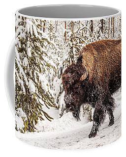 Scary Bison Coffee Mug