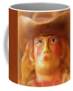 Coffee Mug featuring the photograph Scary Cowgirl by Lynn Sprowl