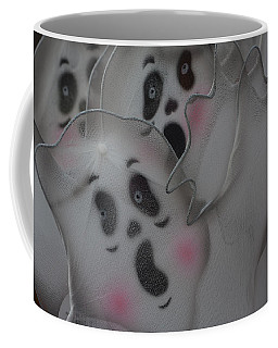 Scary Ghosts Coffee Mug by Patrice Zinck