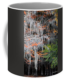 Coffee Mug featuring the photograph Scattered Rust by Lana Trussell