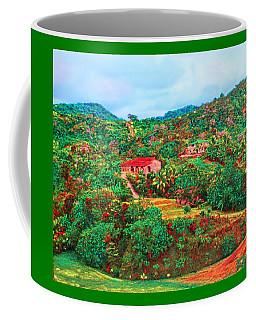 Coffee Mug featuring the painting Scene From Mahogony Bay Honduras by Deborah Boyd