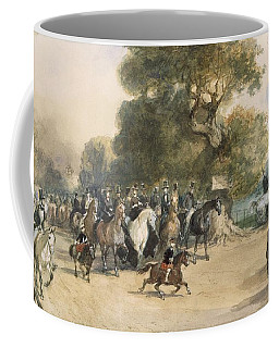 Scene In Hyde Park Coffee Mug