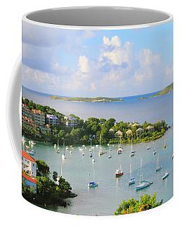 Scenic Overlook Of Cruz Bay St. John Usvi Coffee Mug