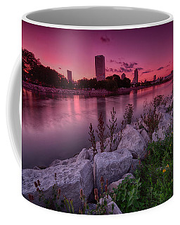 Scenic Sunset Coffee Mug by Jonah  Anderson