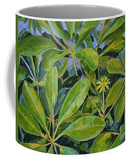Schefflera-right View Coffee Mug by Gail Kent