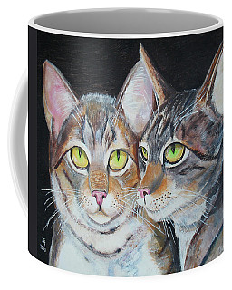 Scheming Cats Coffee Mug