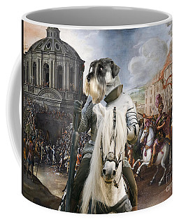 Schnauzer Art - A Siege The Sack Of Rome   Coffee Mug
