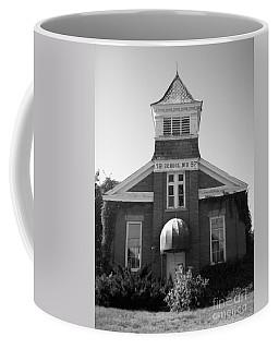 Coffee Mug featuring the photograph School House by Michael Krek