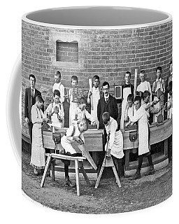 School Woodworking Class Coffee Mug