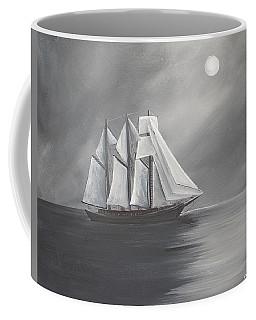 Schooner Moon Coffee Mug