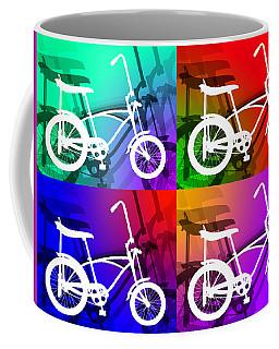 Coffee Mug featuring the digital art Schwinn Sting-ray by Stephen Younts