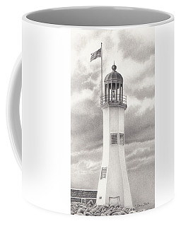 Scituate Light Coffee Mug by Donna Basile