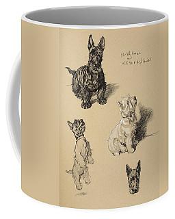 Scotch Terrier And White Westie Coffee Mug