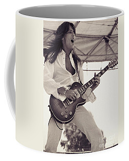 Scott Gorham Of Thin Lizzy Black Rose Tour At Day On The Green 4th Of July 1979  Coffee Mug