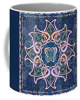 Scottish Blessing Celtic Hearts Duvet Coffee Mug