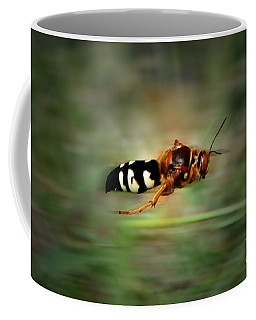Coffee Mug featuring the photograph Scouting Mission by Thomas Woolworth