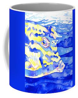 Scrawled Cowfish Portrait Coffee Mug