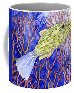 Scrawled Filefish Coffee Mug