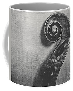 Scroll In Black And White Coffee Mug
