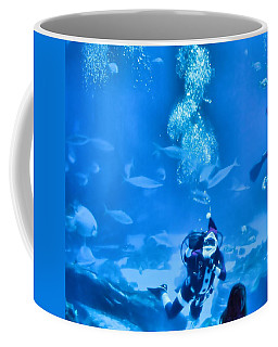 Scuba Santa Coffee Mug