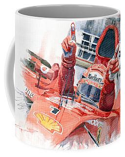 2001 Scuderia Ferrari Marlboro F 2001 Ferrari 050 M Schumacher  Coffee Mug