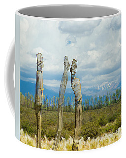 Sculpture In The Andes Coffee Mug