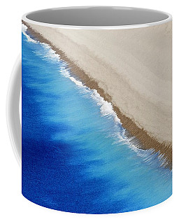 Coffee Mug featuring the photograph Sea And Sand by Wendy Wilton