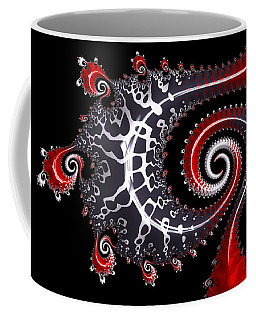 Coffee Mug featuring the digital art Sea Dragon by Susan Maxwell Schmidt
