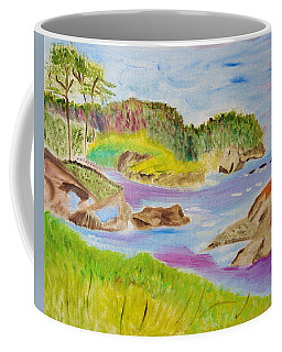 Sea Escape Coffee Mug by Meryl Goudey