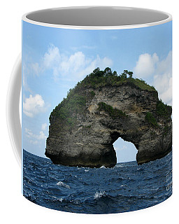 Coffee Mug featuring the photograph Sea Gate by Sergey Lukashin